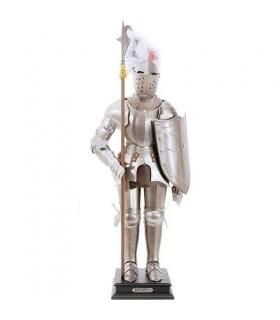 Armadura medieval, 54 cms.