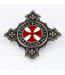 Pin Cruz Templaria