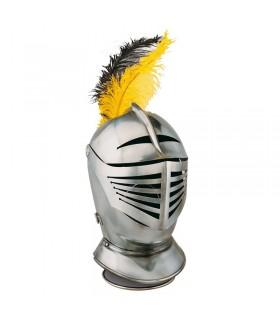 XVI capacete de guerreiro do século lisa