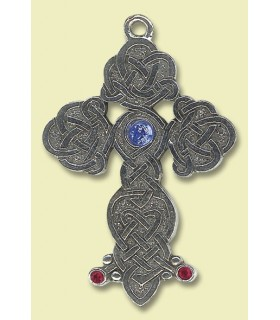 Colgante celta cruz de Ginebra