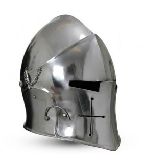 Bacinete Medieval com viseira