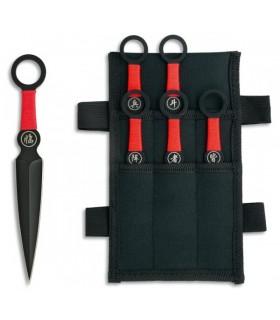 Set 6 cuchillos lanzadores