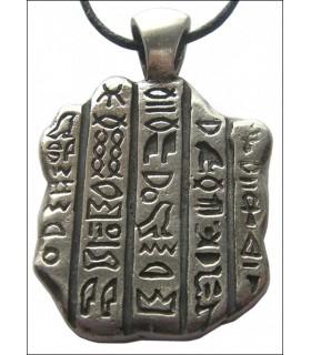 Egípcio pingente pedra Rosatta