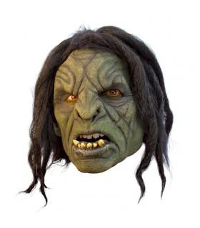máscara Orco com cabelo