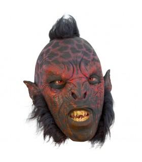 Orco Carnal máscara com cabelo