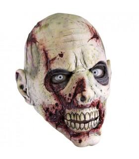 Zombie máscara de rosto cortado