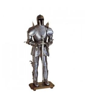 armadura do cavaleiro Teutonic, século XV