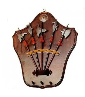 chaves medievais suporte de suspensão