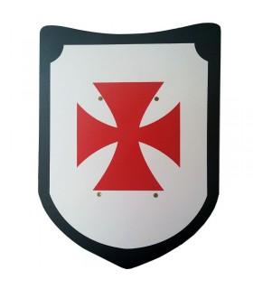 espada e escudo Templar em setembro