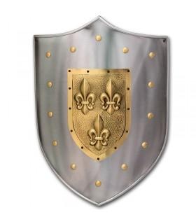 Protetor do metal da flor de lis