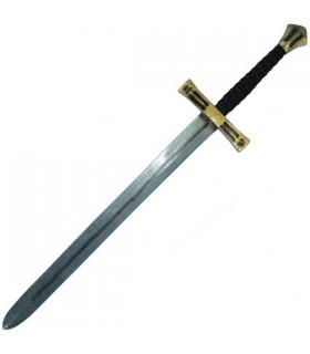 latex espada cruzados, 110 cms.