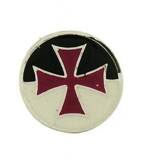 Templários Cruz Broche