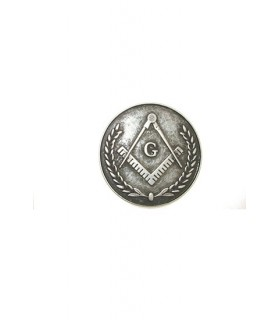 Seal broche Masonic