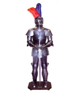 armadura medieval com espada