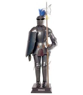 armadura medieval, do século XV (54 cms.)