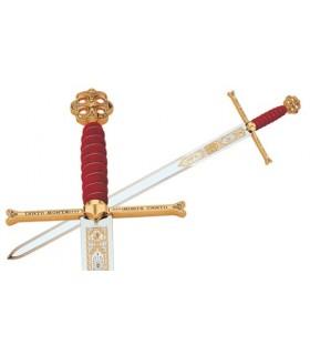 Claymore dos Reis Católicos em Gold