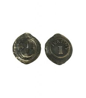 Semisse Moeda (6 cms.)