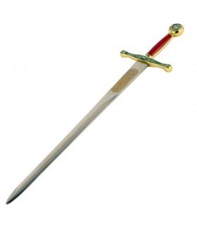 Abridor de carta de espada Excalibur