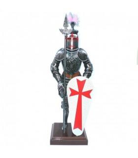 Cobra armadura dos Templários, 42 cm