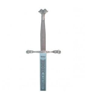 Espada Carlos V, de aço inoxidável