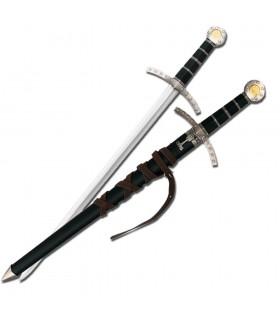 Crianças espada medieval com bainha