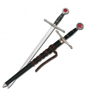 espada crianças Templários com bainha