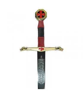 Espada Cavaleiros do Céu cadete. 76,5 cms.