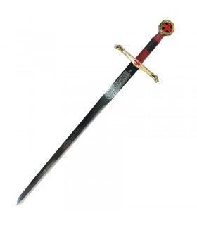 Céu cavaleiros espada cadete. 76,5 cms.