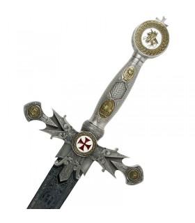 espada Templar decorados