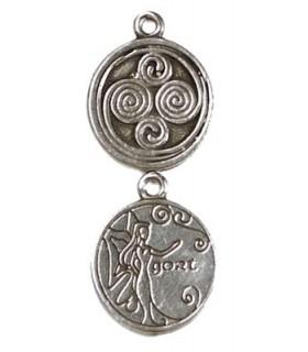 Pingente Celtic Astrology Gort
