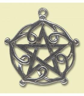 Celtic pingente pentagrama Brisingamen