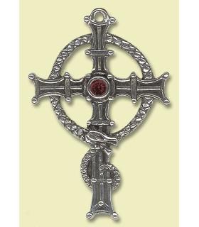 pingente de cruz celta Columba