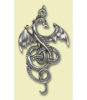 Pendente celta do dragão Nidhogg