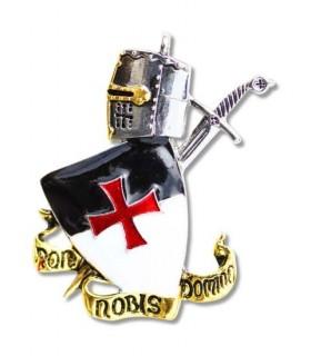 Pingente Templar Non Nobis Domine