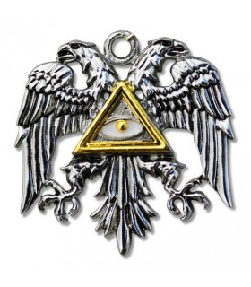 pendant Templar bizantina Águia