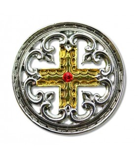 Templar Pingente Cruz Denteada