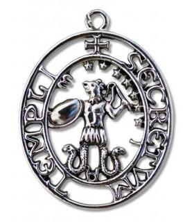 Pingente Templar Selo de Abraxas