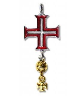 Tomar Templários Cruz Pendant