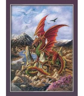 Dragão do fogo Poster (30 x 40,5 cm)