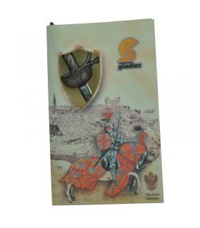 Conquistadores espada em miniatura