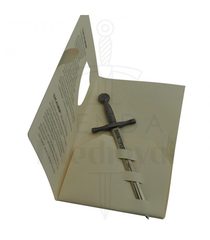 Miniature espada Excalibur