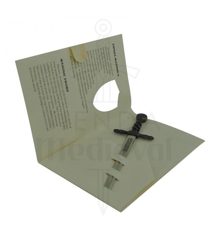 Miniature Masonic Espada