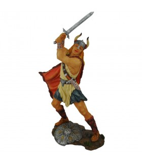 Viking com espada