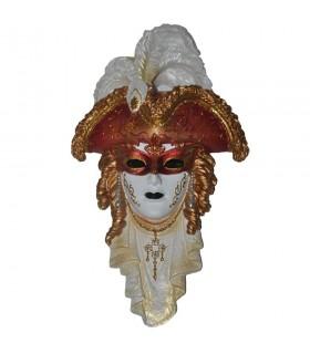 Máscara Venetian tricorn