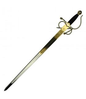 Colada Cid espada, dourado