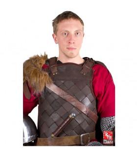 Viking Armadura de Couro