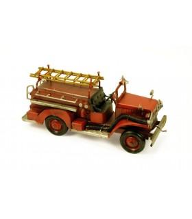 fogo carro em miniatura