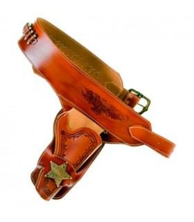 Sheriff por um coldre de revólver