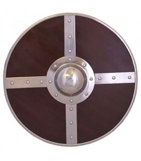 Viking madeira escudo, 56 cms.