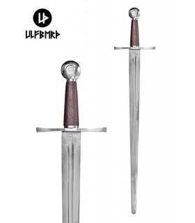 Funcional mão da espada medieval